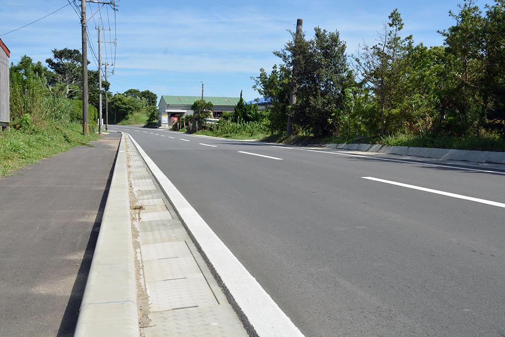 施工実績 土木舗装事業 西之表市 石堂地区 道路舗装