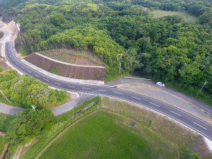 施工実績 土木舗装事業|安城平松線道路舗装工事(30-2工区)