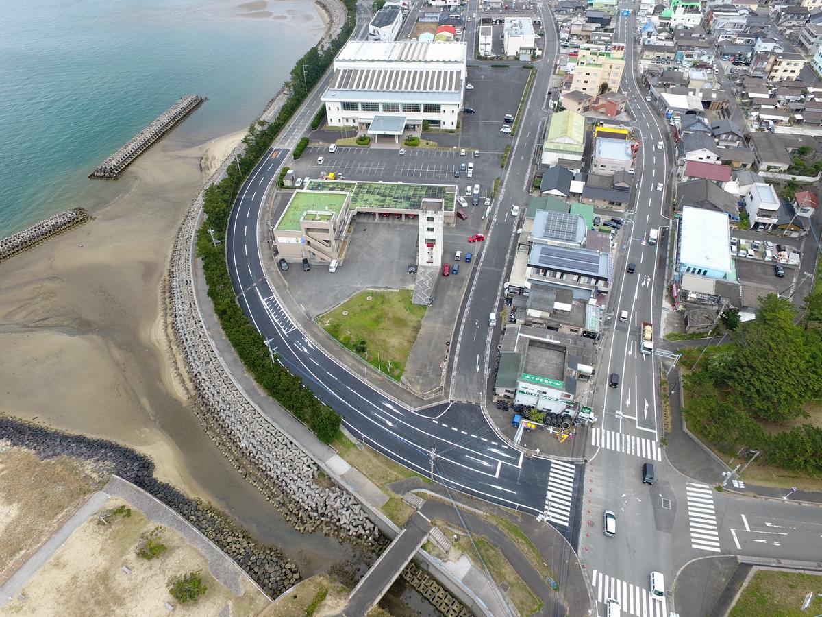 施工実績 |鴨女町西之表港線舗装工事
