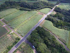 施工実績 土木舗装事業|農地整備事業(通作・保全) 住吉地区 繰1-5工区