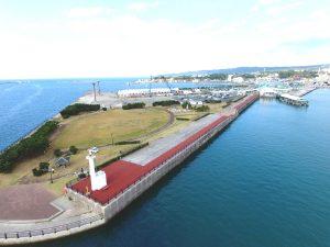施工実績 土木舗装事業|西之表港景観形成整備工事(R2-1工区)