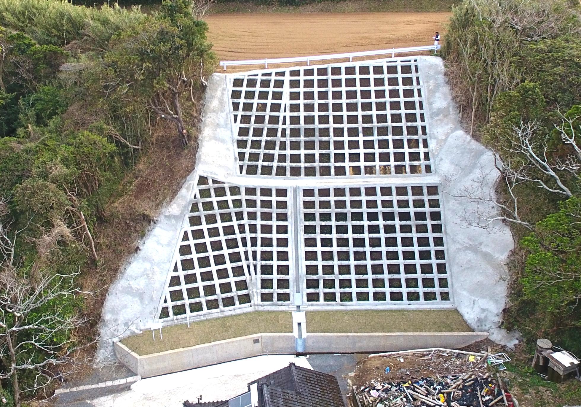 施工実績 土木舗装事業|令和2年度林地荒廃防止事業(上喜加野1工区)